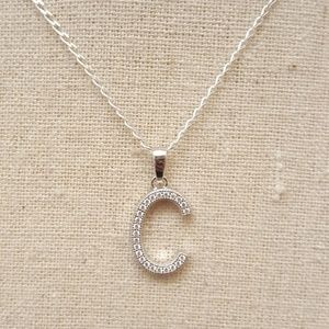 Jewelry - Sterling Silver Letter C Necklace